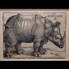 D. Manuel I enviou um Rinoceronte ao papa Leão X
