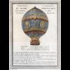 Os irmãos Montgolfier lançaram o primeiro balão com criaturas vivas a bordo