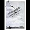 Ocorreu o primeiro desastre entre dois aviões, em Milão na Itália