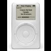 Foi lançado o anúncio da comercialização do iPod
