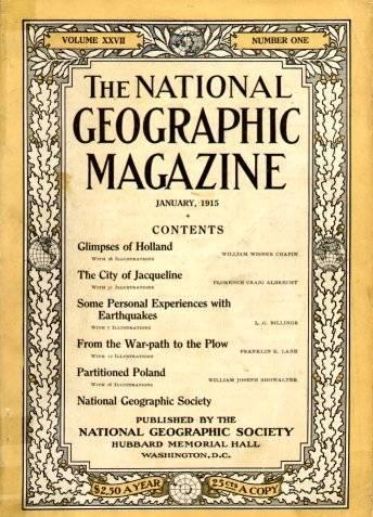 Surgiu a revista National Geographic