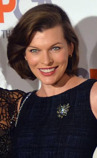Nasceu a actriz e modelo Milla Jovovich