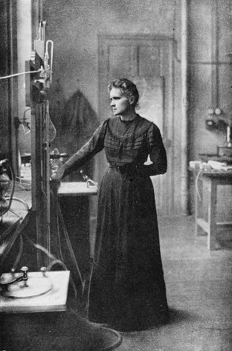 Marie Curie recebeu o seu segundo prémio Nobel