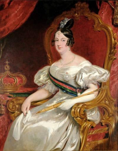 Faleceu a rainha D. Maria II