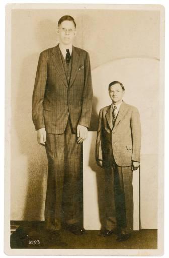 Faleceu Robert Wadlow, o homem mais alto da história