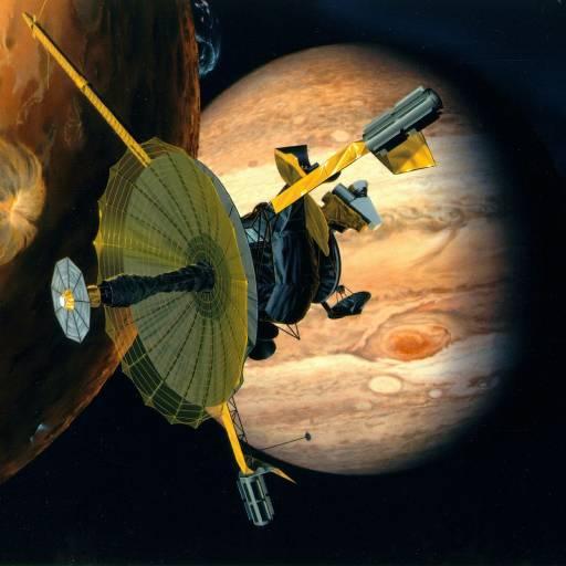 Sonda Espacial do Galileo entrou na atmosfera de Júpiter e transmitiu informação durante 75 minutos