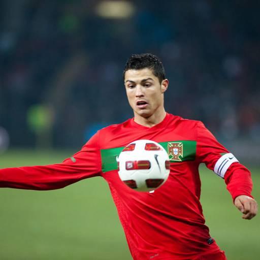Nasceu o jogador Cristiano Ronaldo