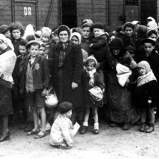 """Hitler anunciou a """"solução"""" do problema dos judeus na Alemanha"""