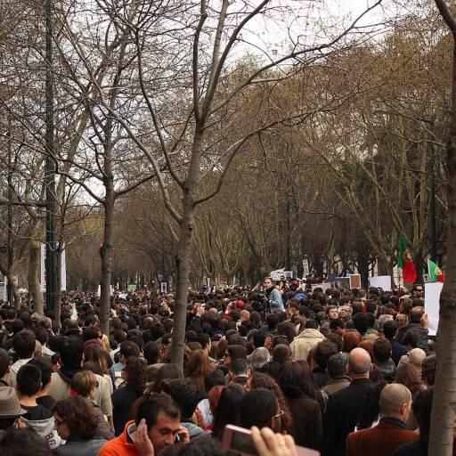 Manifestação da Geração à Rasca saiu à rua em várias cidades portuguesas