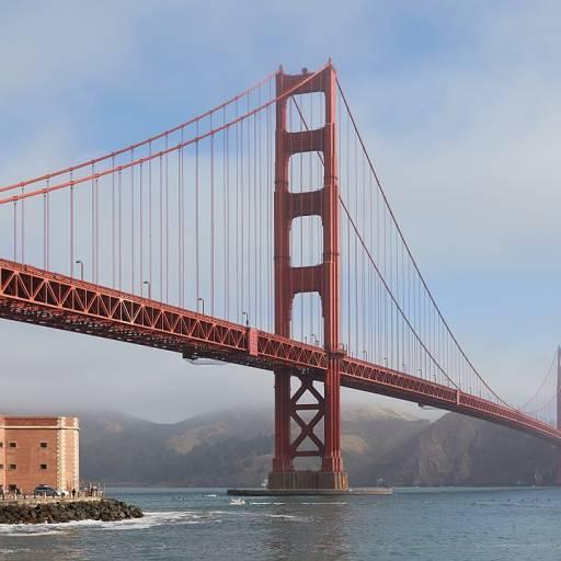 Iniciou-se a construção da ponte Golden Gate