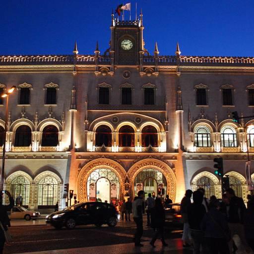 Foi inaugurado a Estação Central do Rossio