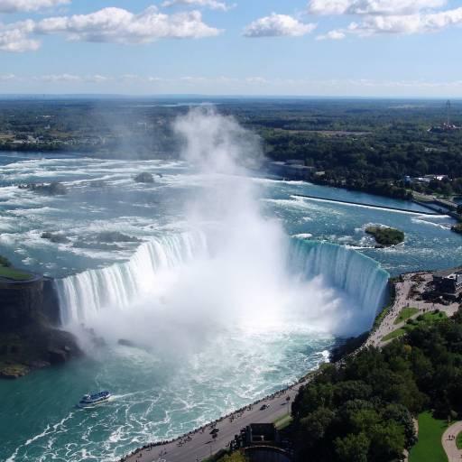 Foi assinado acordo para a preservação das Cataratas do Niágara entre o Canadá e os Estados Unidos