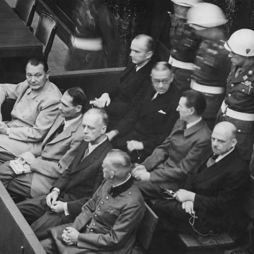 Julgamentos de Nuremberga condenaram onze militares da Alemanha nazi a pena de morte