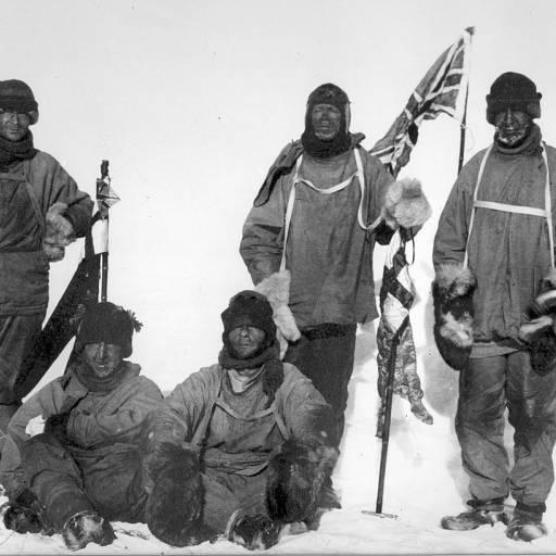 Uma expedição neozelandesa, dirigida por Edmund Hillary, chegou ao Pólo Sul
