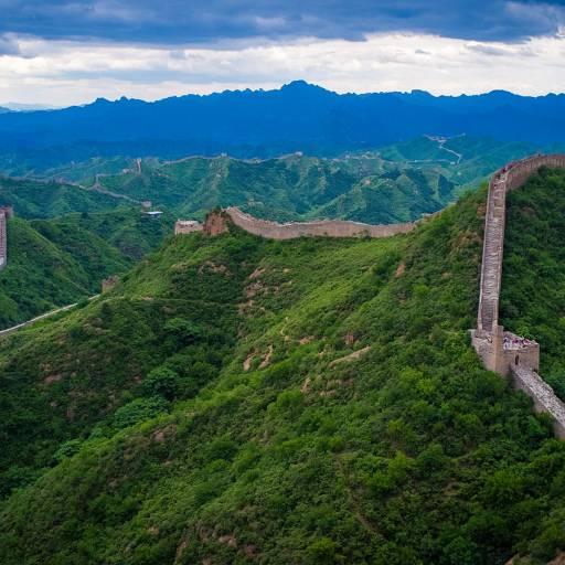 A Grande Muralha da China tornou-se património da humanidade