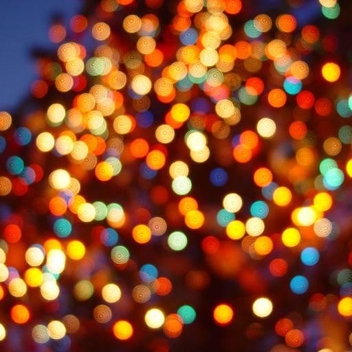 Foi criado o primeiro cordão de luzes de Natal