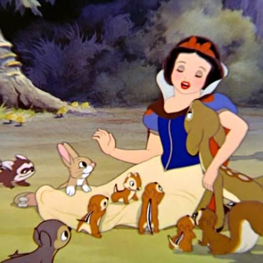 Estreou o filme Branca de Neve e os Sete Anões, da Walt Disney