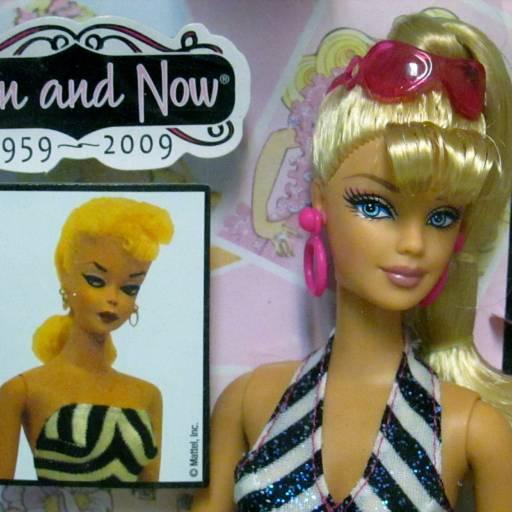 A Barbie foi apresentada em Nova Iorque