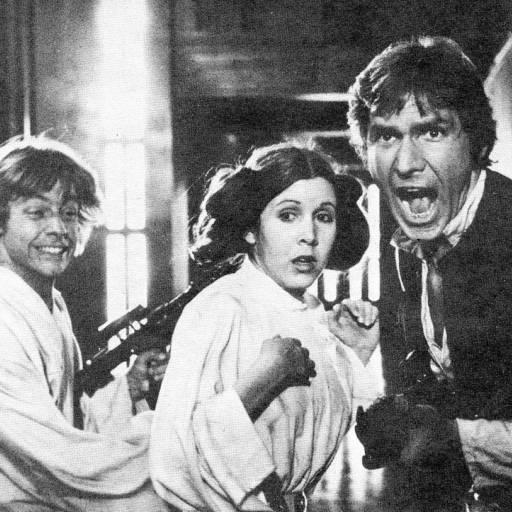 Estreou Star Wars, de George Lucas