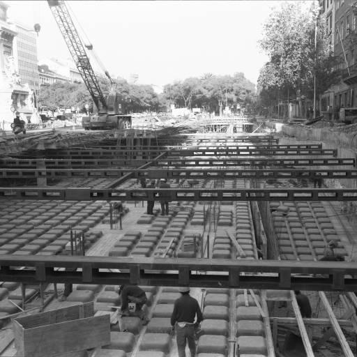 Começaram as obras de construção do Metropolitano de Lisboa