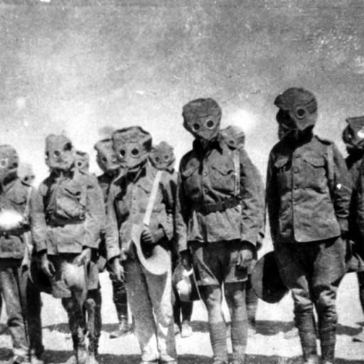 Os alemães lançaram as primeiras bombas de gás asfixiante durante a Primeira Guerra Mundial