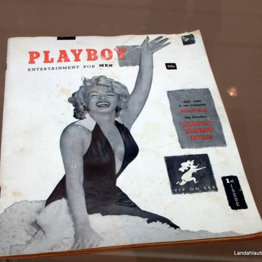 Circulou pela primeira vez a Revista Playboy