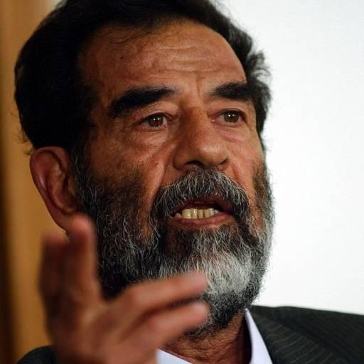 Nasceu Saddam Hussein
