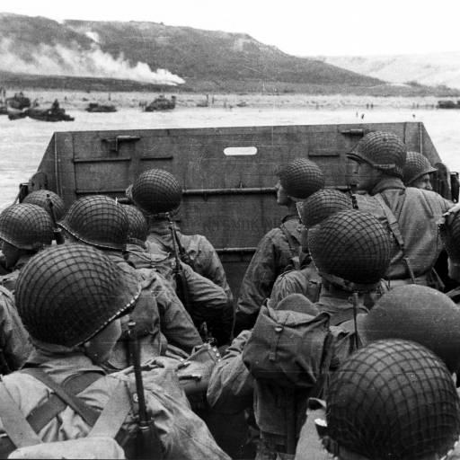 Desembarque das tropas aliadas na Normandia