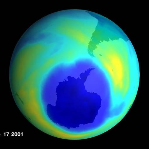 O buraco na camada de Ozono sobre a Antártica chegou aos 13 milhões Km2