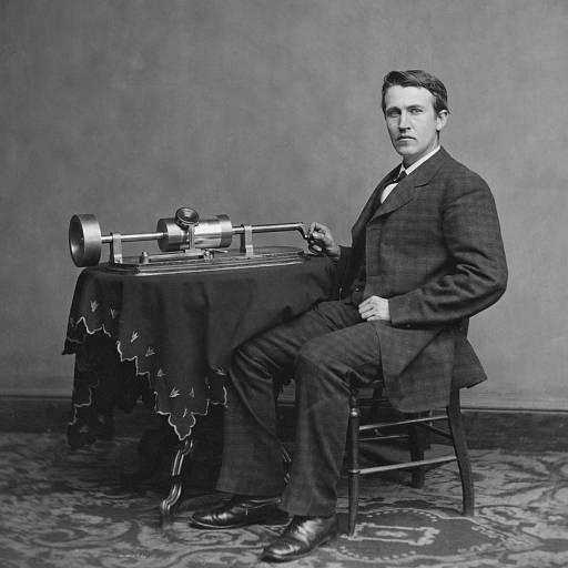 Foi patenteado o Fonógrafo de Thomas Edison