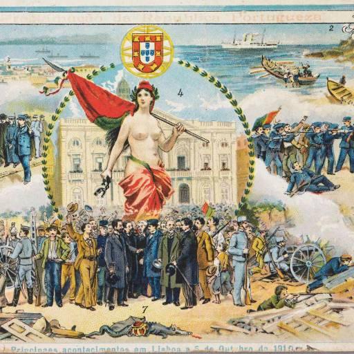 Foi proclamada a República Portuguesa