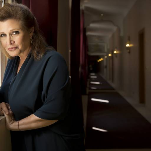 Nasceu a actriz Carrie Fisher