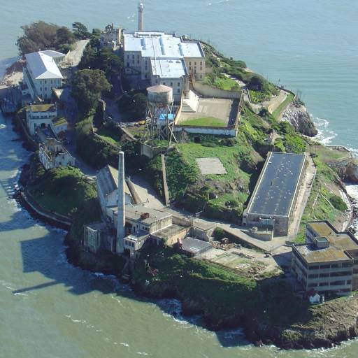 A prisão de Alcatraz foi desactivada
