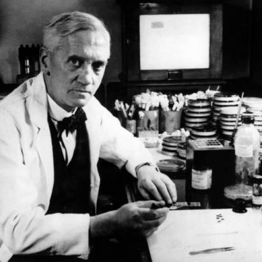 Alexander Fleming recebeu o Prémio Nobel de Medicina pelo descobrimento da penicilina