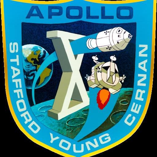 A nave espacial Apollo X esteve em órbita a 15Km da Lua