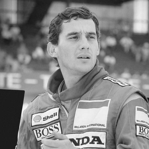 Nasceu o piloto de Fórmula 1, Ayrton Senna