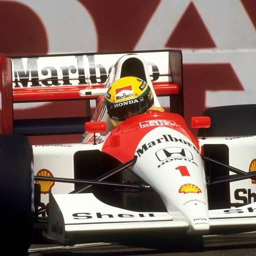 Ayrton Senna consagrou-se tricampeão mundial de Fórmula 1