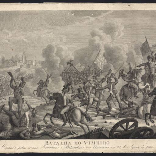 Ocorreu a Batalha do Vimeiro, em Portugal