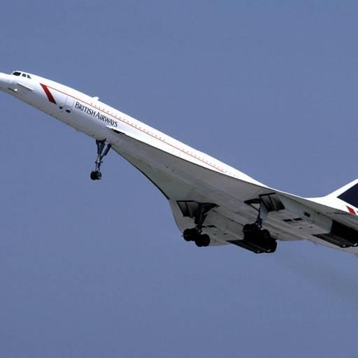 Foram encerrados os voos comerciais com o Concorde