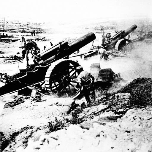 Teve início a primeira Guerra Mundial