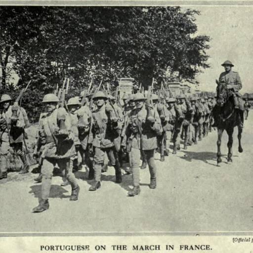 As tropas do Corpo Expedicionário Português regressaram da I Guerra Mundial
