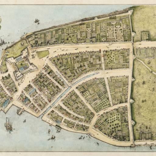 A antiga cidade de Nova Amsterdão deu lugar a Nova Iorque