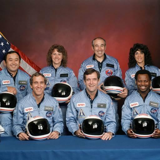 A nave espacial Challenger explodiu 73 segundos após ter sido lançada