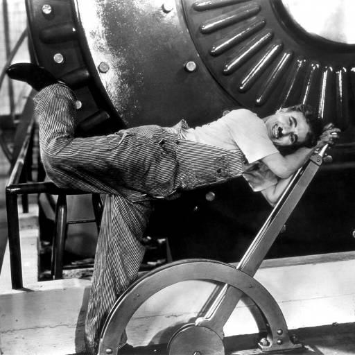 Estreou o filme Tempos Modernos, de Charles Chaplin