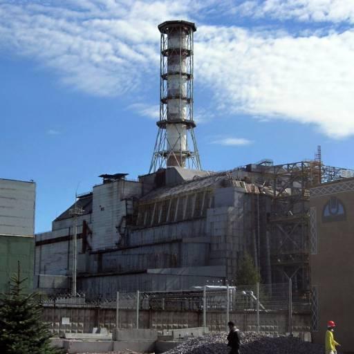 A URSS encerrou a central nuclear Chernobyl