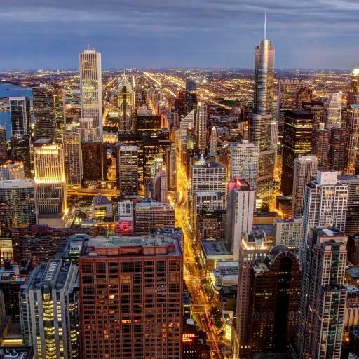 Começou um incêndio que durou dois dias em Chicago