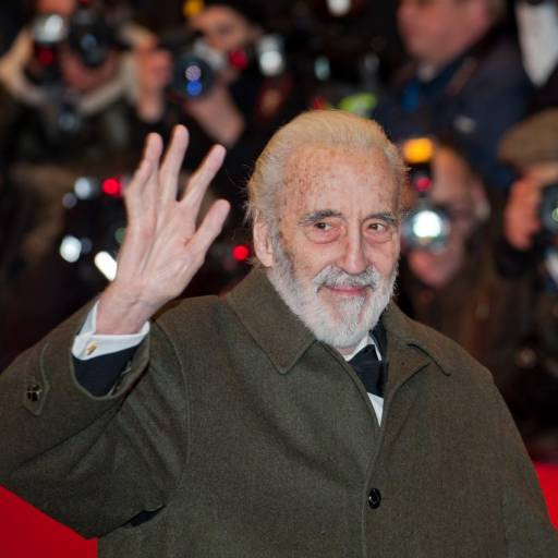 Nasceu o actor Christopher Lee