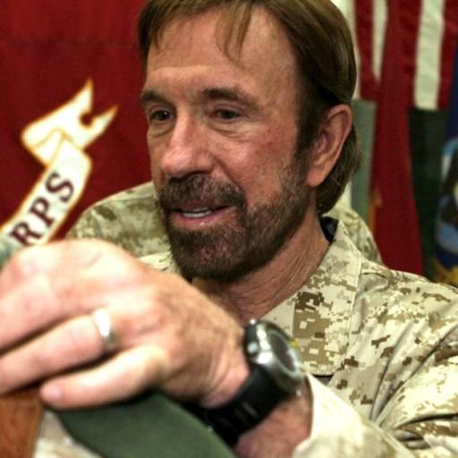 Nasceu o actor Chuck Norris