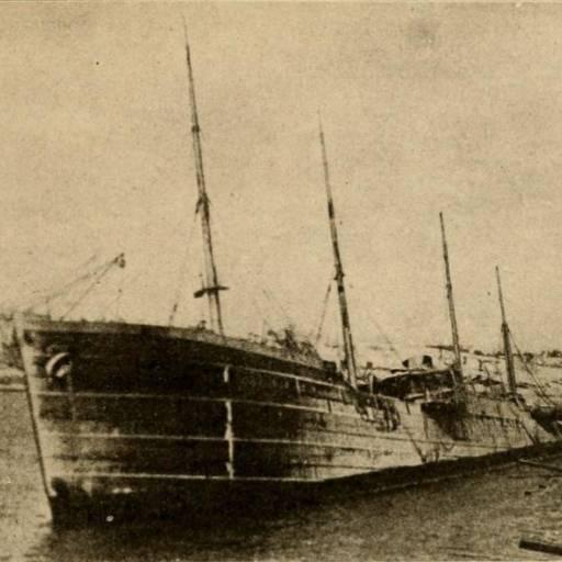 O barco Mont Blanc, que transportava 3 mil toneladas de dinamite, embateu com outro barco