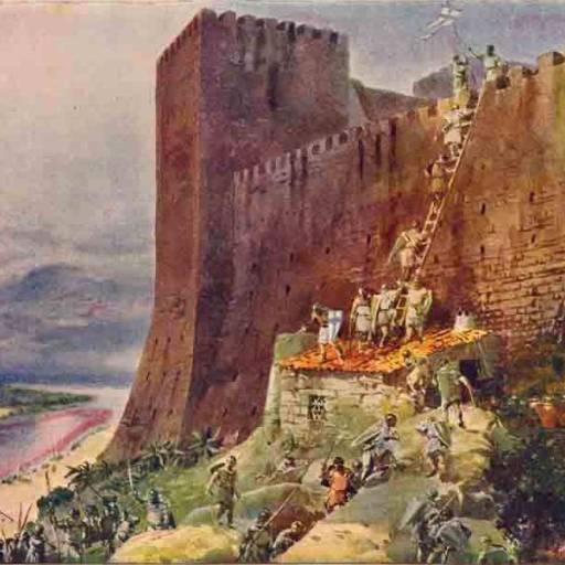 D. Afonso Henriques conquistou Santarém aos mouros
